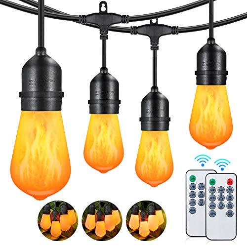 Cadena de luces LED para exteriores