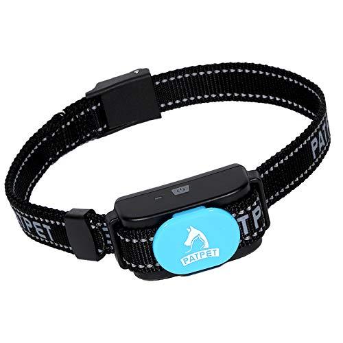 Collar de perro PATPET para corteza de perro seguro