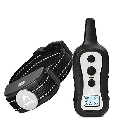 PATPET Collar de entrenamiento para perros con mando a distancia -W/…