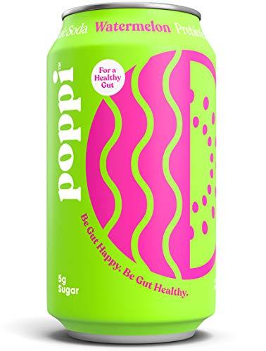 Poppi un soda prebiótico saludable y brillante
