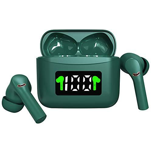 Auriculares inalámbricos Bluetooth 5.2 con pantalla LED