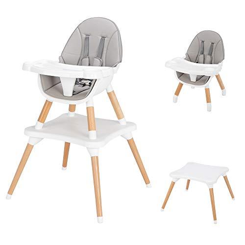 Silla de comedor de bebé silla alta 3 en 1 convertible silla de niño Customeriazed niñ…
