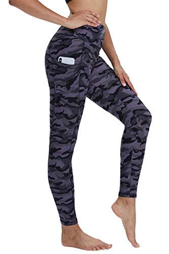 CAMPSNAIL - Pantalones de yoga de cintura alta para mujer – levantamiento de g…