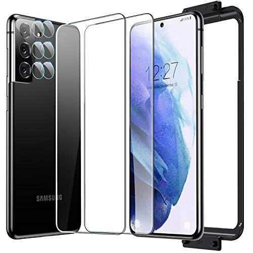 Humixx - Protector de pantalla para Samsung Galaxy S21 Plus (PET&Glas…