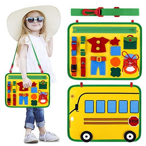 INNOCHEER - Tabla de juegos infantil Montessori