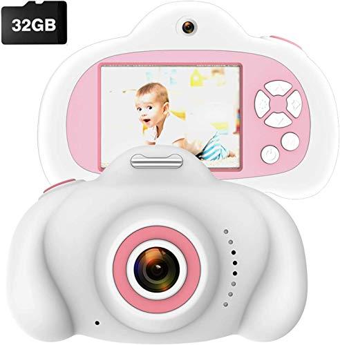 "Kids Camera 8mp 2.4"" IPS HD Screen Dual Camera Shockproof Children Selfie…"