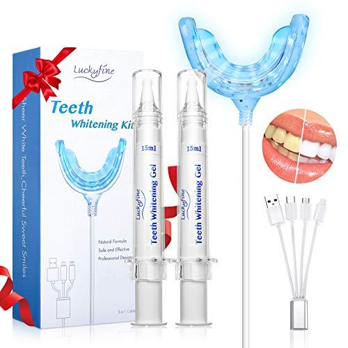 Kit de blanqueamiento de dientes con luz LED
