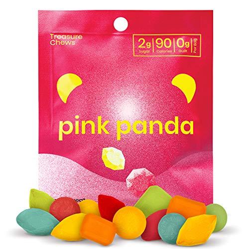 Pink Panda - Gomitas veganas de bajo contenido de azúcar - Snacks masticable…