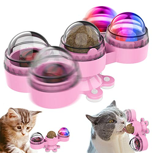 Remunkia Catnip Toys Catnip - Pelota comestible interactiva para gatos