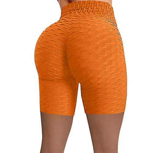 UNBRUVO - Pantalones cortos de yoga para mujer
