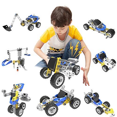 ZAYOR - Juego de juguetes de construcción para niños y niñas (5 en 1)